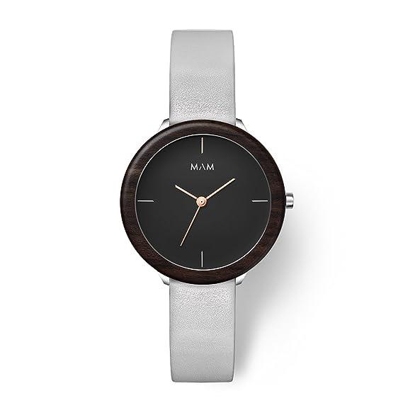 MAM Originals · Stainless Dark Ebony Grey | Reloj de Mujer | Diseño Minimalista | Creado