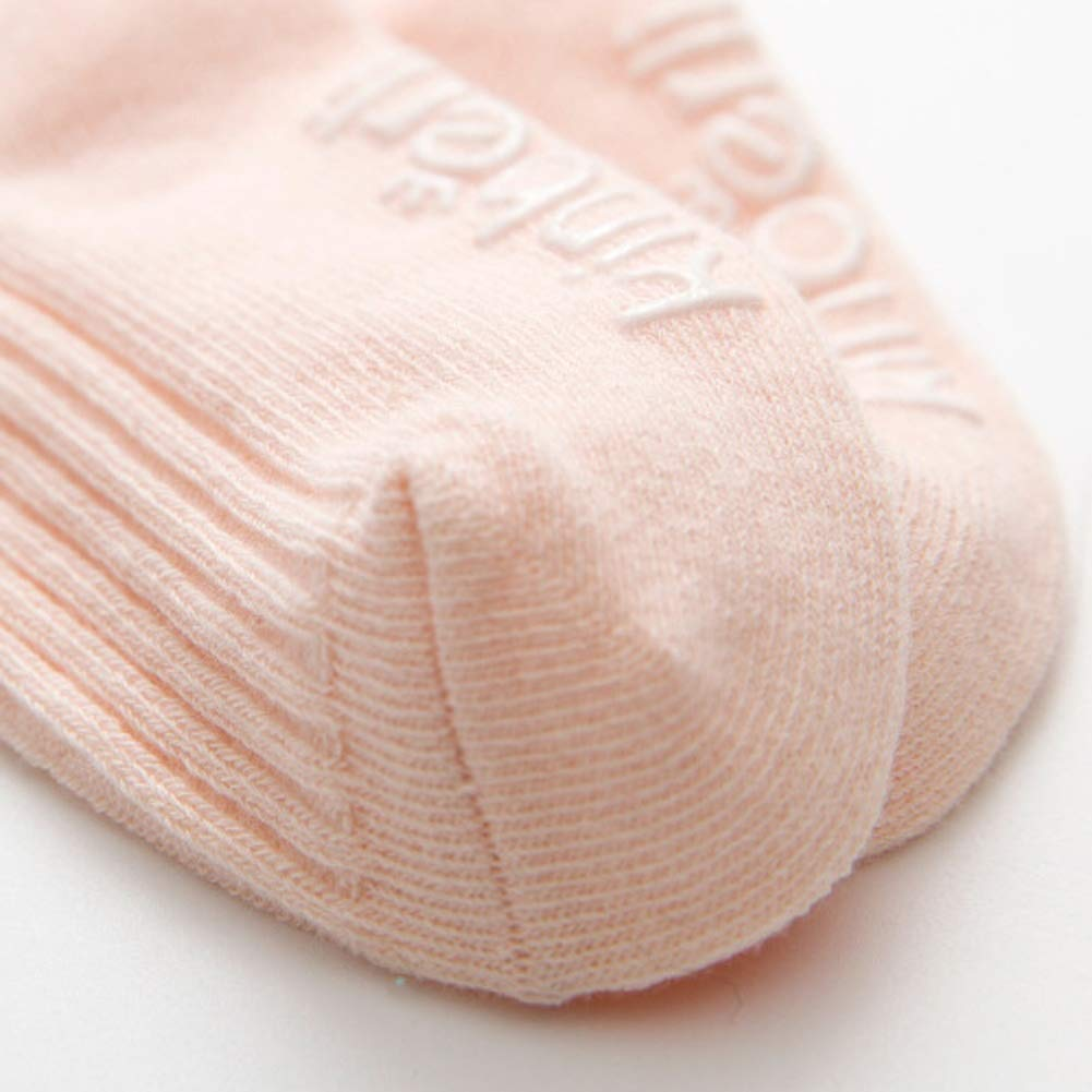 Unisex Baby Toddler 12 Pairs White Ankle Socks Infant Kids Solid Cotton Socks