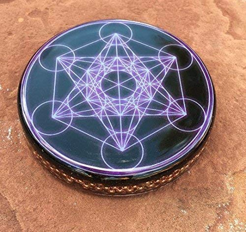 Orgone Metatron's Cube Large disc
