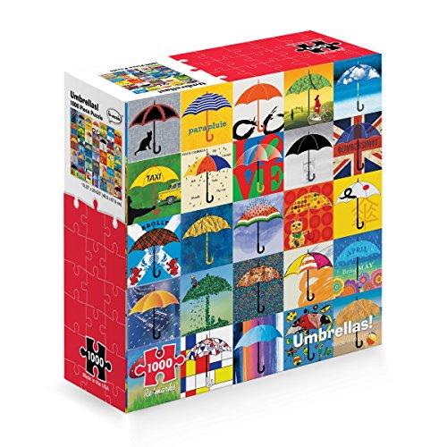 Re-marks Umbrellas 1000 Piece Puzzle