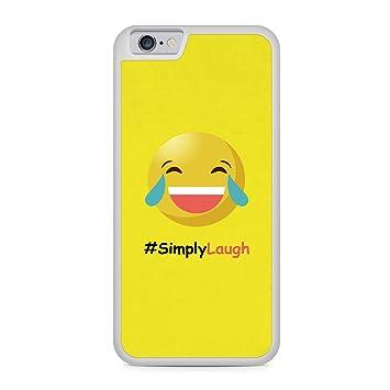 Simply Laugh Emoji Apple iPhone 6 + PLUS/6S + Plus silicona ...