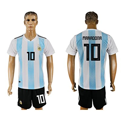 2018 World Cup Argentina National Team #10 Soccer Jersey