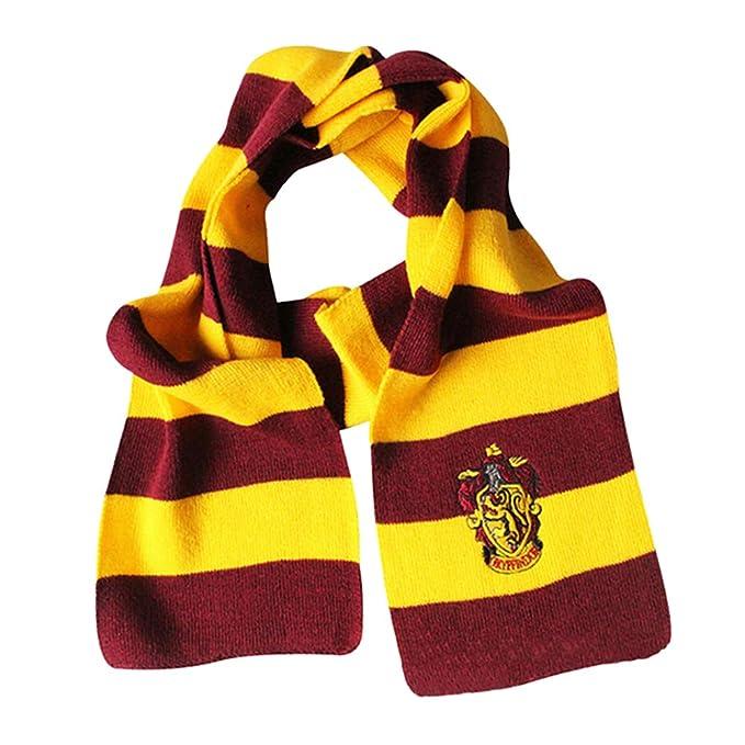 KEKEDA Potter Bufanda Gryffindor Slytherin Hufflepuff Ravenclaw ...
