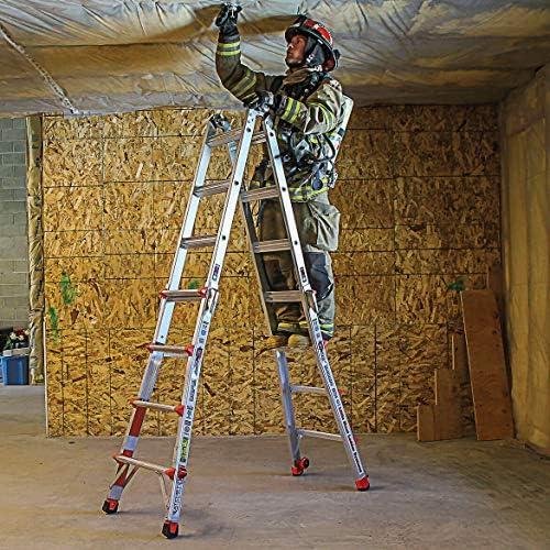 Poco gigante escalera Defender para bomberos: Amazon.es: Bricolaje y herramientas