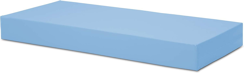 Ferlex - Colchón Sanitario viscoelástico articulado   Firmeza Media   Funda Impermeable   15 cm de Grosor (90x190)