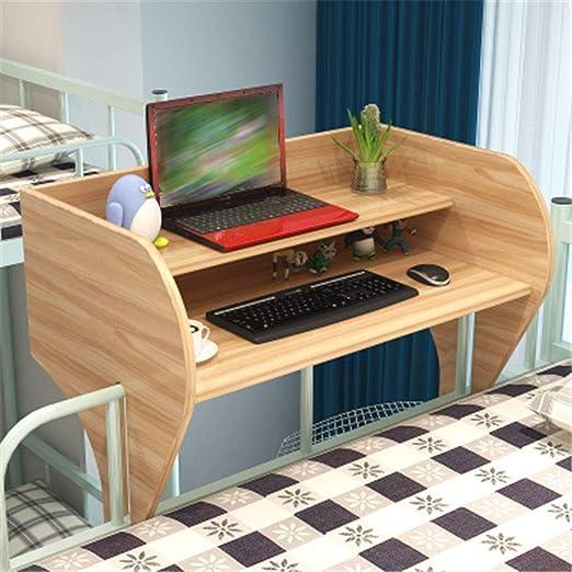 Exing Escritorio para computadora portátil, Escritorio Doble de ...