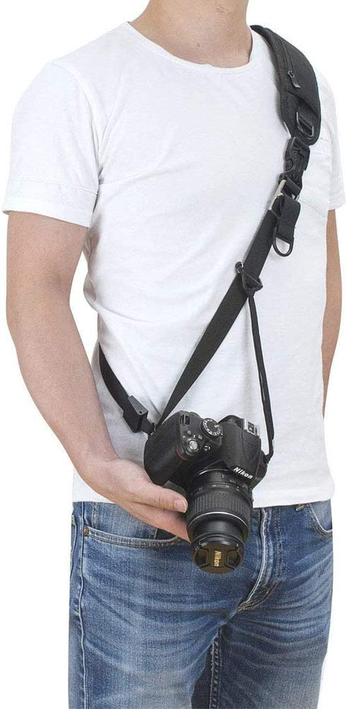 Sony Canon Nikon Panasonic TEKCAM Pentax Correa de Hombro para c/ámara r/éflex Digital SLR DSLR Olympus