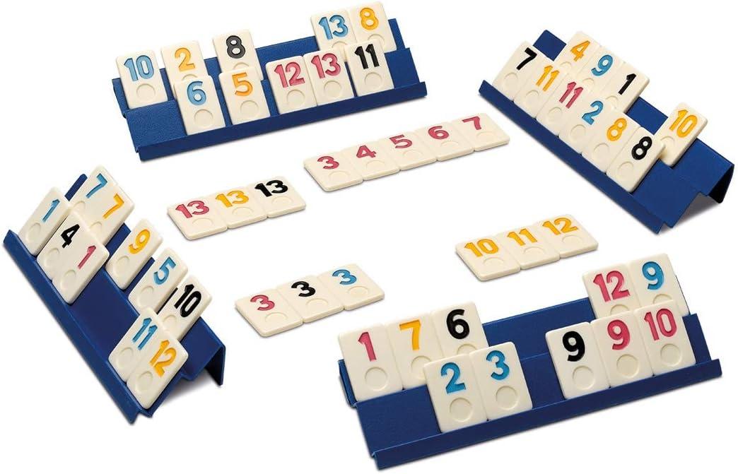 Cayro - Rummi Classic Caja de Metal - Juego Tradicional - Juego de Mesa - Desarrollo de Habilidades cognitivas y lógico matemáticas - Juego de Mesa (753): Amazon.es: Juguetes y juegos