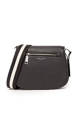 5410a402e3b Amazon.com: Marc Jacobs Gotham Saddle Bag, Black: Clothing