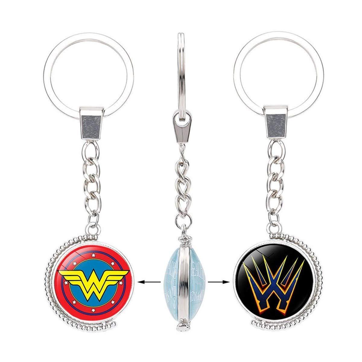 WZLDP Capitán América Escudo Superman Llavero de Piedras ...