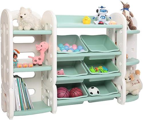 JOYMOR 3-in-1 Kids Toy Storage Organizer