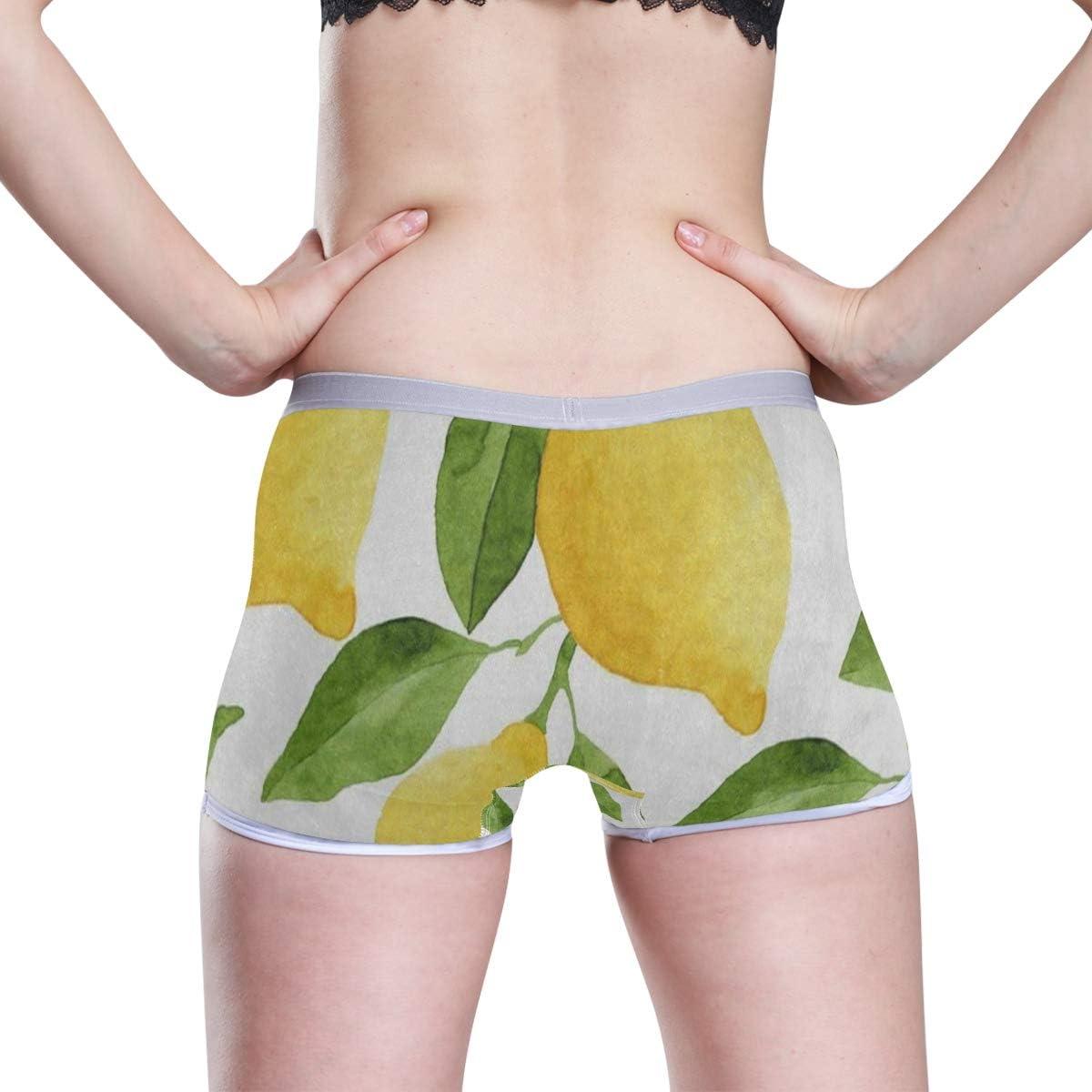 HangWang Autumn Colorful Forest Boyshort Panties Womens Breathable Boyshort Hipster Panty Underwear