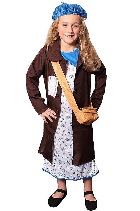 ILOVEFANCYDRESS Disfraz de niño de la Segunda Guerra Mundial ...