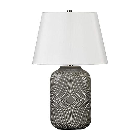 Elstead - Muse 1 Lámpara de mesa Luz - Gris MUSE/TL GRIS ...