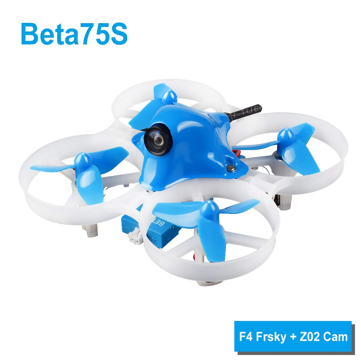 BETAFPV Beta75S Whoop Drone 1S Brushed FPV Quadcopter with F4 FC Frsky Receiver Z02 Camera OSD Smart Audio 8X20 Motor for Tiny&nbs