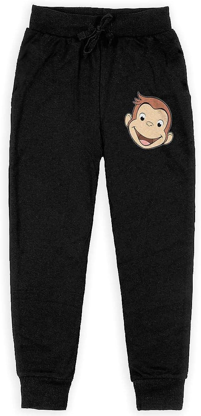 HR Puerto Rico Flag Logo Boys Sweatpants,Joggers Sport Training Pants Trousers Black