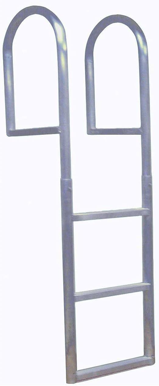 Dock Edge - Escalera metálica (con 3 peldaños): Amazon.es ...