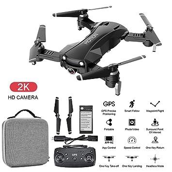 Global RC Drone GPS sin Escobillas con 2K Cámara Full HD FPV ...