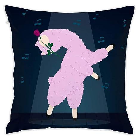 XCOZU Fundas de cojín sofá, Color Rosa, con una Funda de ...