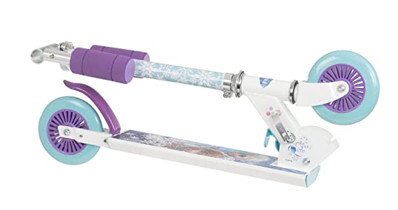 Amazon.com: Disney Frozen Inline niña patinete Scooter ...
