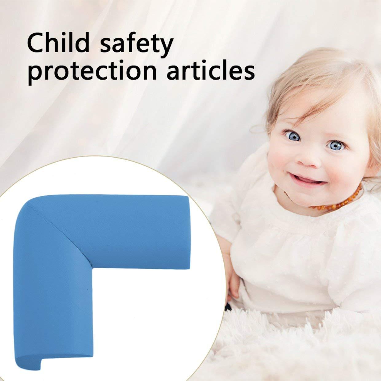 Qewmsg Pr/áctico Hogar Seguridad para el beb/é Mesa de escritorio Cubierta de la esquina Protector suave Suavizante