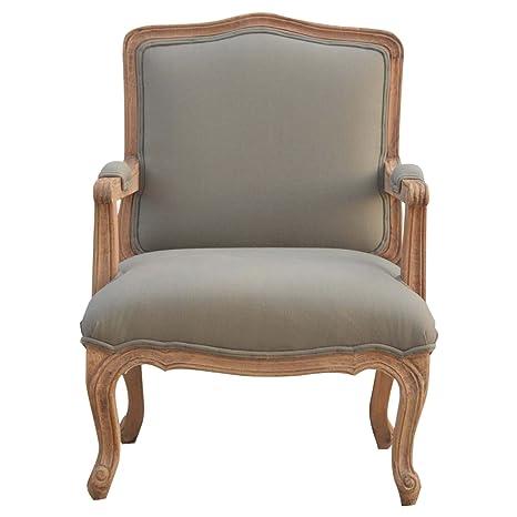 Artisan Muebles Estilo francés tapizado Silla con ...