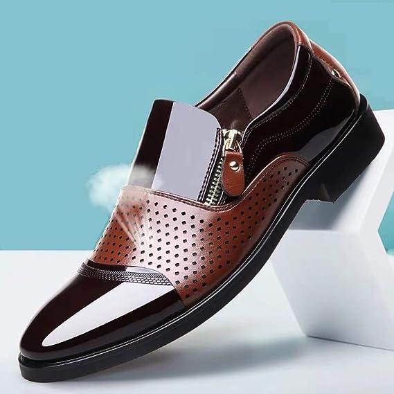 Amazon.com: Corriee - Zapatillas deportivas de piel ...