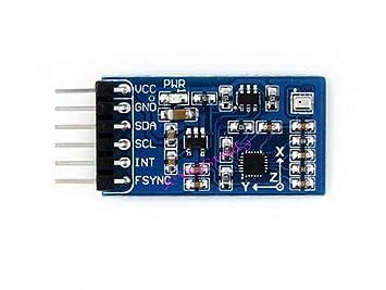 10 DOF IMU Sensor de unidad de medición inercial movimiento posición altura temperatura Monitor mpu9255 bmp280