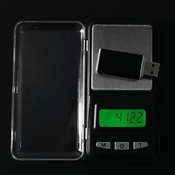 Básculas de Cocina, Ecotrumpuk Mini balanza de joyería portátil digital con funda: Amazon.es: Electrónica