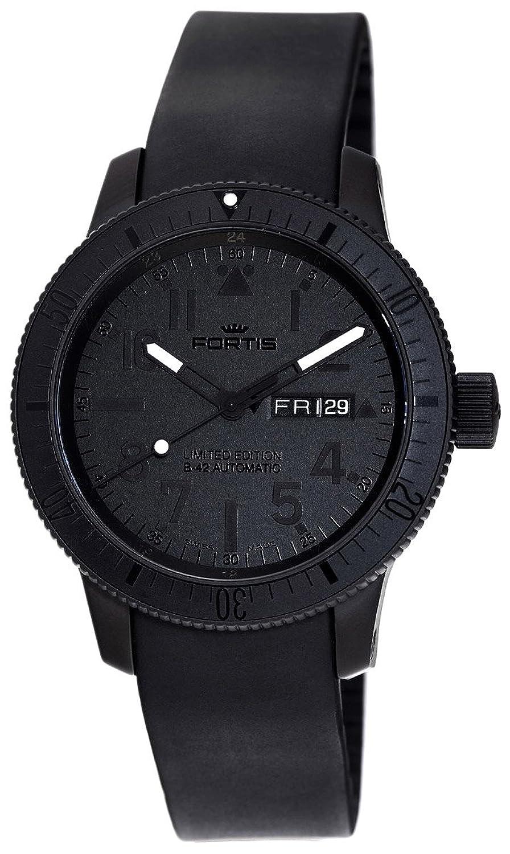 [フォルティス]FORTIS コスモノート B-42 ブラックブラック デイデイト 647.28.81K メンズ(男) 腕時計[正規輸入品] B008E4LGAM