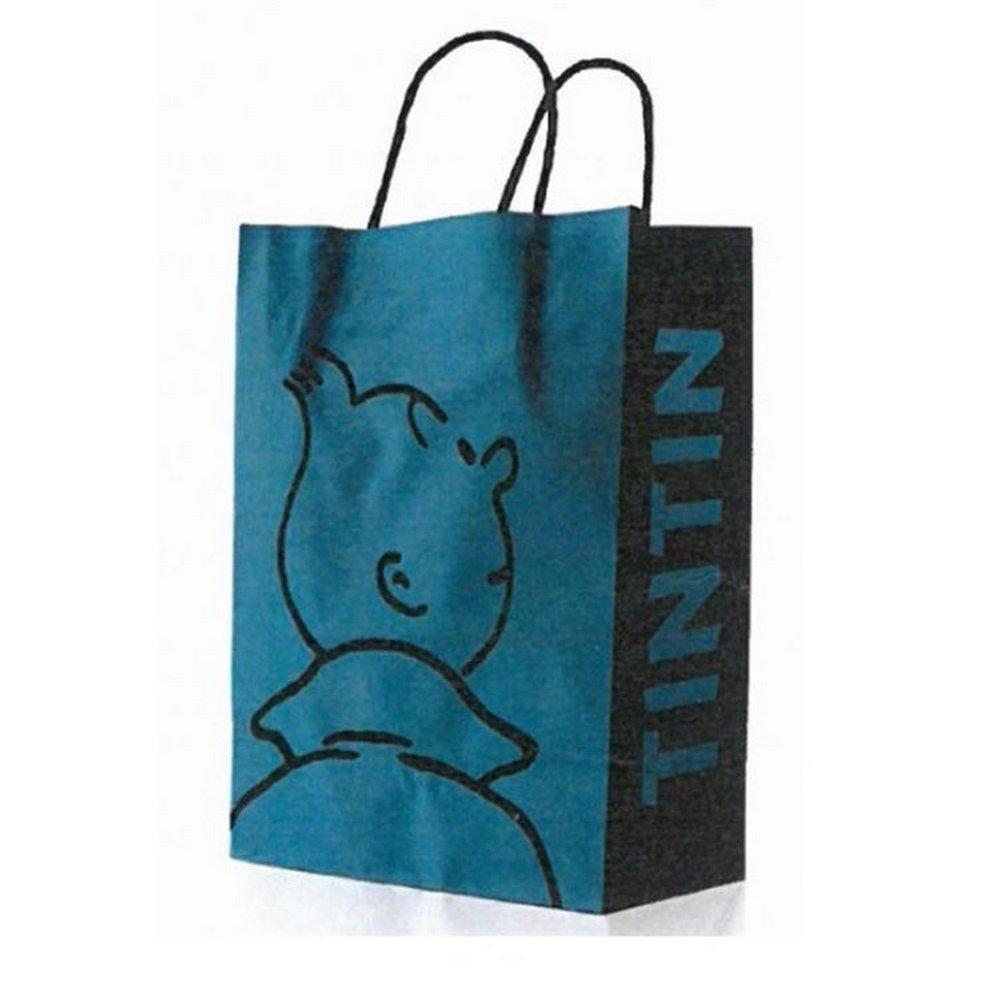 Moulinsart Bolsa en Papel Reciclado Tintín Perfil 28x21x9cm ...