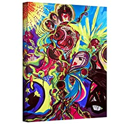 Art Wall Marina Petro Experimenting With Creation Gallery Wrapped Canvas Art, 32 By 24-inch