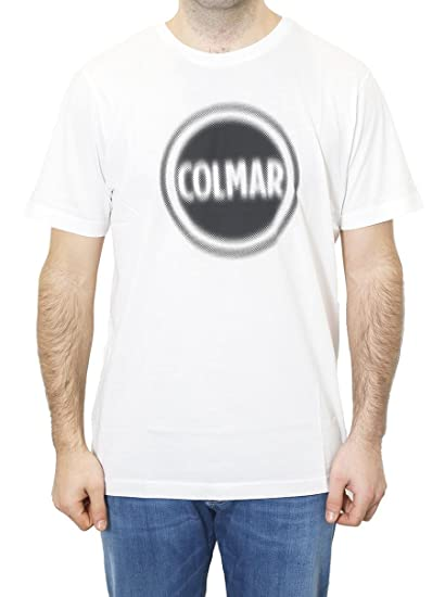 T shirt Uomo Colmar L Bianco 75953si Primavera Estate 2018