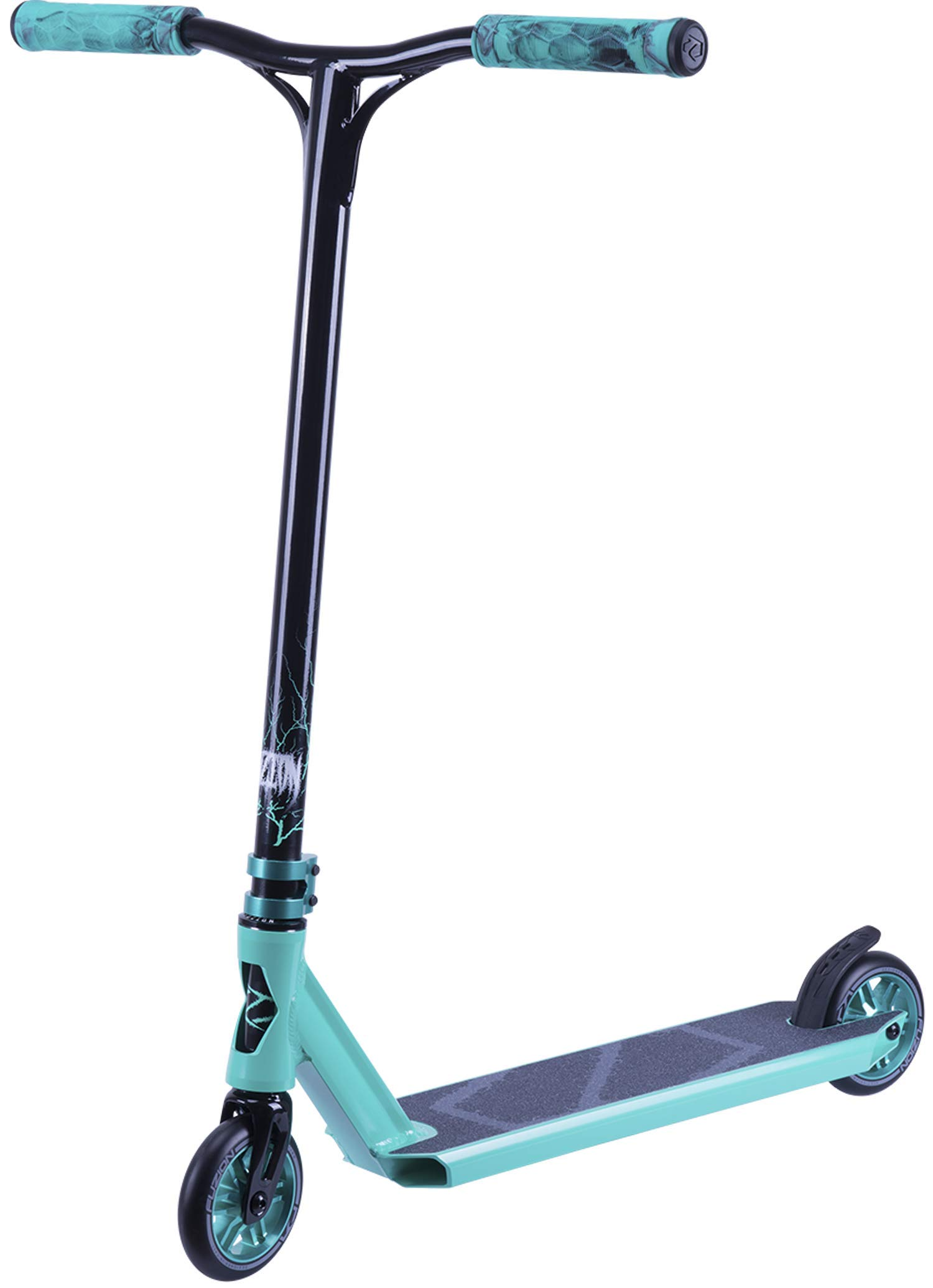 Fuzion Z300 Pro Scooter Complete Trick Scooter - Intermediate and Beginner Stunt Scooters for Kids 8 Years and Up, Teens and Adults - Durable, Smooth, Freestyle Kick Scooter for Boys and Girls (Fury) by Unknown
