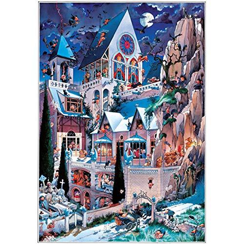 Paul Lamond Games - Castle Of Horror, 2000 Piece Jigsaw