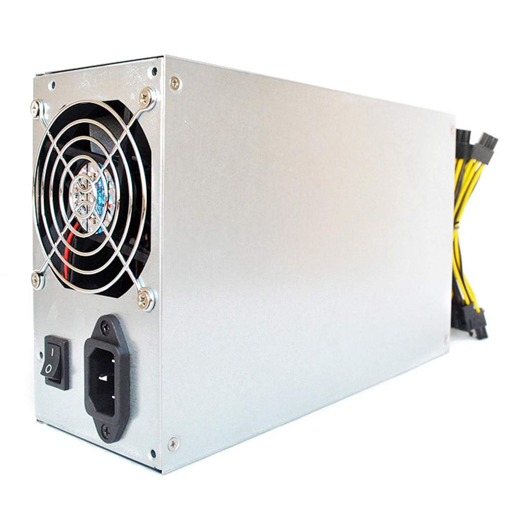 Utini Dual Ball 160-270V 1800W Bearing Fan Dedicated Power Supply for S9 L3 D3 R-4 A7 E9 Miner Mining Machines with Metal Housing