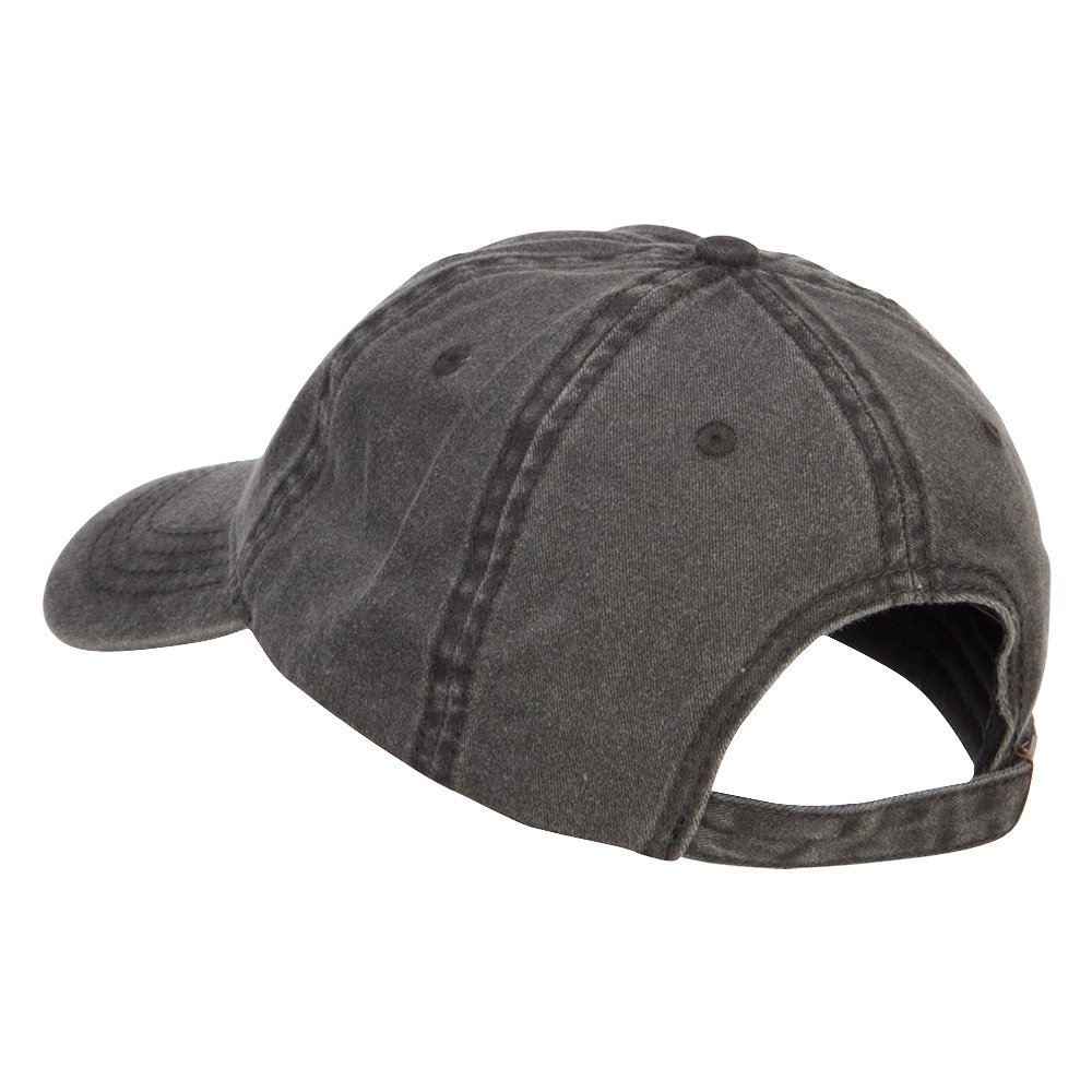 e4Hats.com All Seeing Eye Embroidered Washed Cap