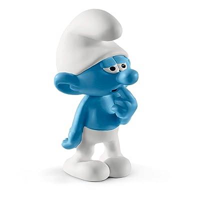 SCHLEICH Clumsy Smurf: Toys & Games