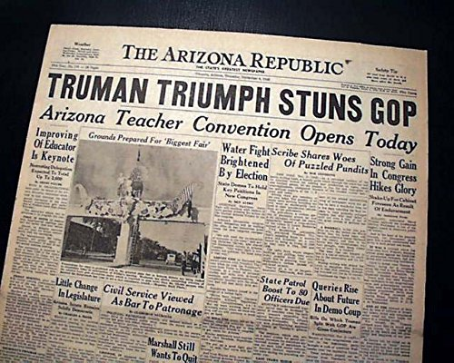 Image result for truman defeats dewey