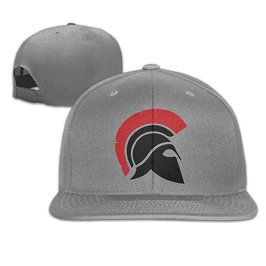 Spartan Helmet Truck Hat Adjustable Baseball Caps Dad Hat Flat Cap at  Amazon Men s Clothing store  006a2a9f21e