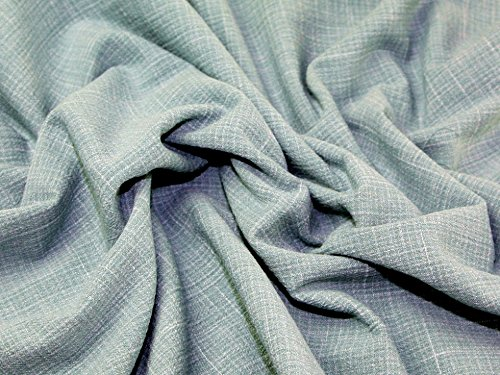 Fresco Crinkle Textured Linen Look Cotton Dress Fabric Thyme Green - per metre (Thyme Dress)