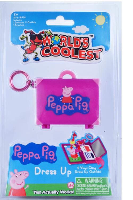 Worlds Coolest Smallest Peppa Pig Dress Up Set