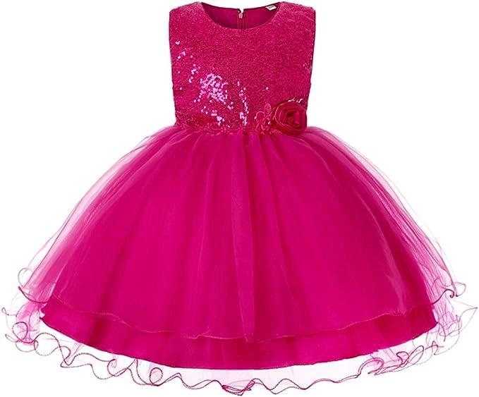 Amazon.com: JiaDuo vestido tipo tutú de tul y encaje ...