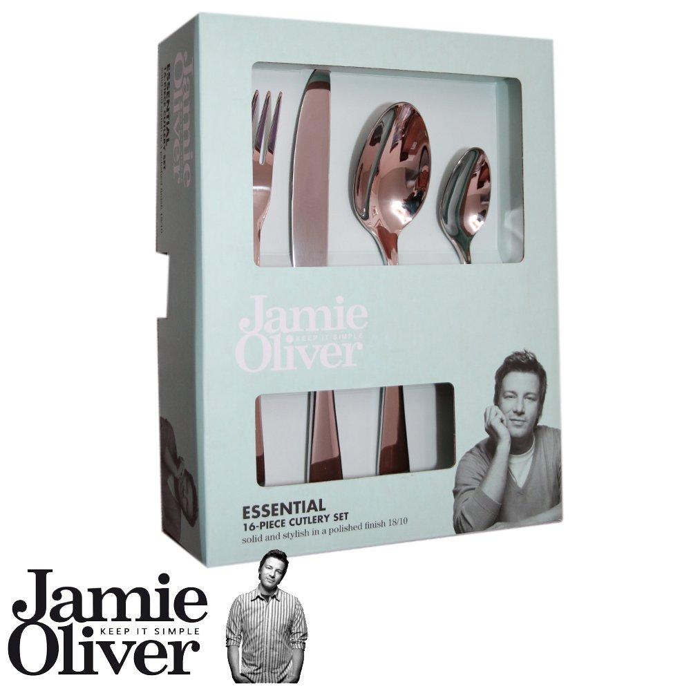 JAMIE Oliver Essential bestek-set, 16 stück , 18/10: Amazon.de ...
