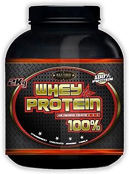 Whey Protein 100% 2kg profesional, proteina de suero, sabor ...