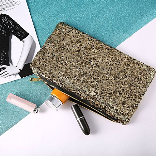 Evening Party Prom Bridal Evening Bag Female Full Sequins Sequined Women Dinner Bag Girl Republe Gold Purse Clutch EqvRzwP