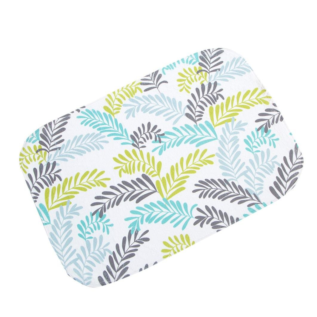 A, Coral fleece Mingfa.y Kitchen Rugs Doormats Carpet For Living Room Soft Fluffy Non Slip Absorbent Bath Mat Bathroom Shower Carpet Mats