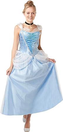 Princesas Disney - Disfraz de Cenicienta para mujer, Talla M ...