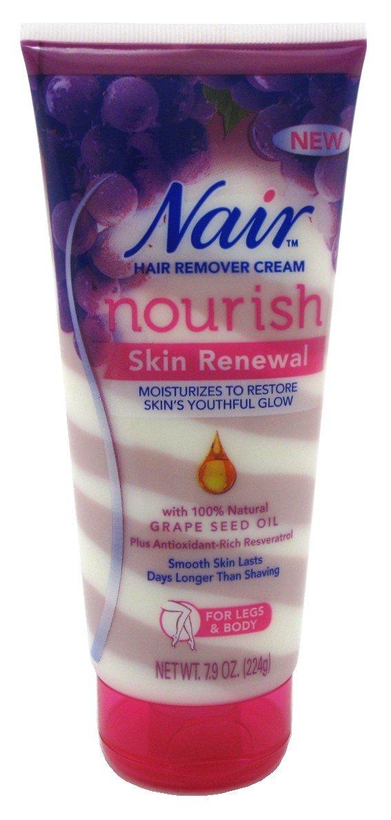 Nair Hair Remover Nourish Skin Renewal Legs & Body 7.9 Ounce