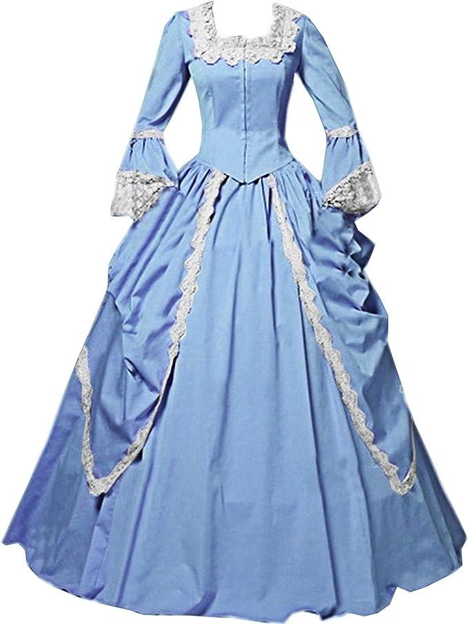 Amazon.com: I-Youth - Vestido de encaje para mujer con ...